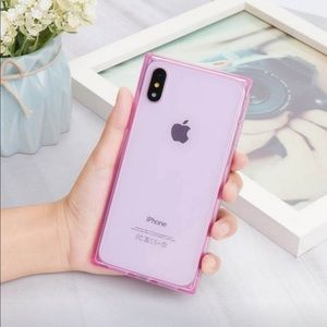 Accessories - iPhone XS Max Case (Pink)